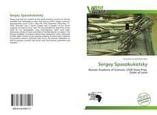 Capa do livro de Sergey Spasokukotsky