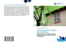 Bookcover of Domaszowice, Opole Voivodeship