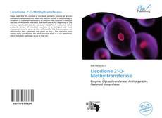 Bookcover of Licodione 2'-O-Methyltransferase