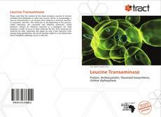 Buchcover von Leucine Transaminase