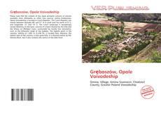 Capa do livro de Gręboszów, Opole Voivodeship