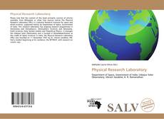 Portada del libro de Physical Research Laboratory