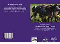 Bookcover of Professional Rugby League
