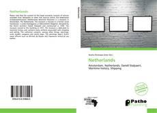 Bookcover of Netherlands
