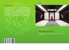 Capa do livro de Aristide Briand