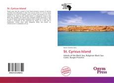 Capa do livro de St. Cyricus Island