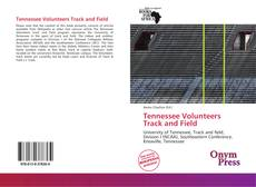 Tennessee Volunteers Track and Field kitap kapağı