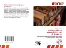 Bookcover of Nederlandsche Vereeniging van Antiquaren