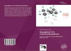 Bookcover of Kaempferol 3-O-Galactosyltransferase
