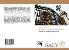 Bookcover of St. Denys Theological Institute