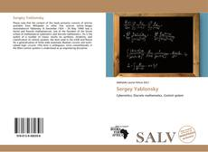 Bookcover of Sergey Yablonsky
