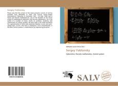 Buchcover von Sergey Yablonsky