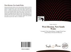 Bookcover of West Hoxton, New South Wales