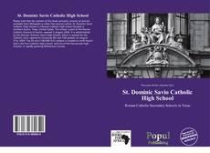 St. Dominic Savio Catholic High School kitap kapağı
