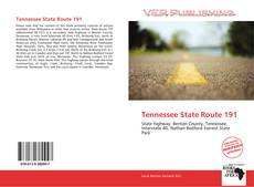 Bookcover of Tennessee State Route 191