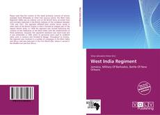 Portada del libro de West India Regiment
