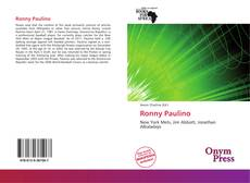 Bookcover of Ronny Paulino