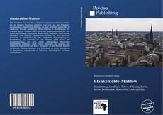 Blankenfelde-Mahlow kitap kapağı