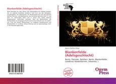 Bookcover of Blankenfelde (Adelsgeschlecht)
