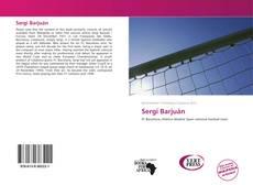 Sergi Barjuán kitap kapağı