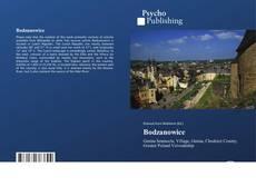 Buchcover von Bodzanowice