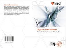 Buchcover von Glycine Transaminase