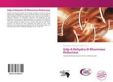 Buchcover von Gdp-4-Dehydro-D-Rhamnose Reductase