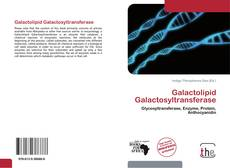 Bookcover of Galactolipid Galactosyltransferase