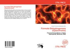 Bookcover of Formate Dehydrogenase (Cytochrome)