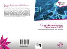 Bookcover of Formate Dehydrogenase (Cytochrome-C-553)