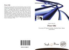 Bookcover of Peter Obi