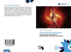 Обложка Dolichyl-Phosphatase