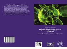Bookcover of Digalactosyldiacylglycerol Synthase