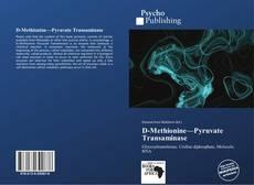 Bookcover of D-Methionine—Pyruvate Transaminase