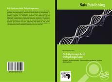 Bookcover of D-2-Hydroxy-Acid Dehydrogenase