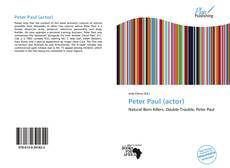 Bookcover of Peter Paul (actor)