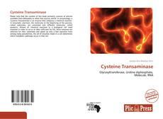 Buchcover von Cysteine Transaminase