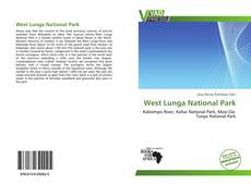 Bookcover of West Lunga National Park