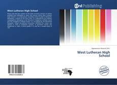Capa do livro de West Lutheran High School