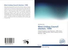Copertina di West Lindsey Council election, 1999