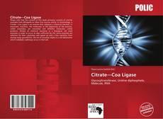 Bookcover of Citrate—Coa Ligase