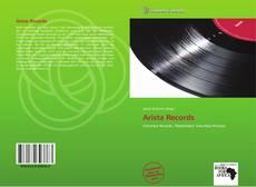 Arista Records kitap kapağı