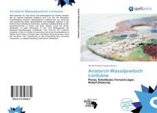 Portada del libro de Aristarch Wassiljewitsch Lentulow