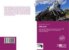 PRR E44的封面
