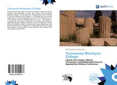 Copertina di Tennessee Wesleyan College