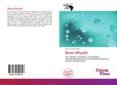 Bookcover of Blase (Physik)