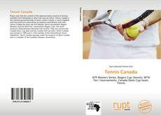 Bookcover of Tennis Canada