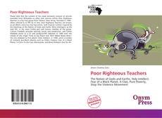 Bookcover of Poor Righteous Teachers
