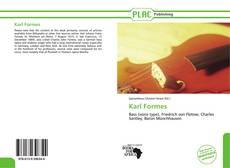 Bookcover of Karl Formes