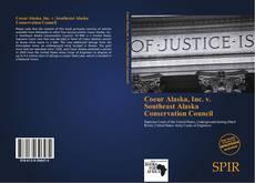 Buchcover von Coeur Alaska, Inc. v. Southeast Alaska Conservation Council